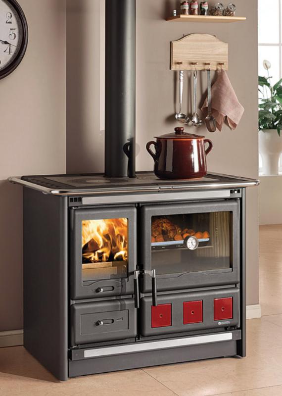 LaNordica ROSA XXL- Cucina a legna – Stufe, caminetti, cucine ...