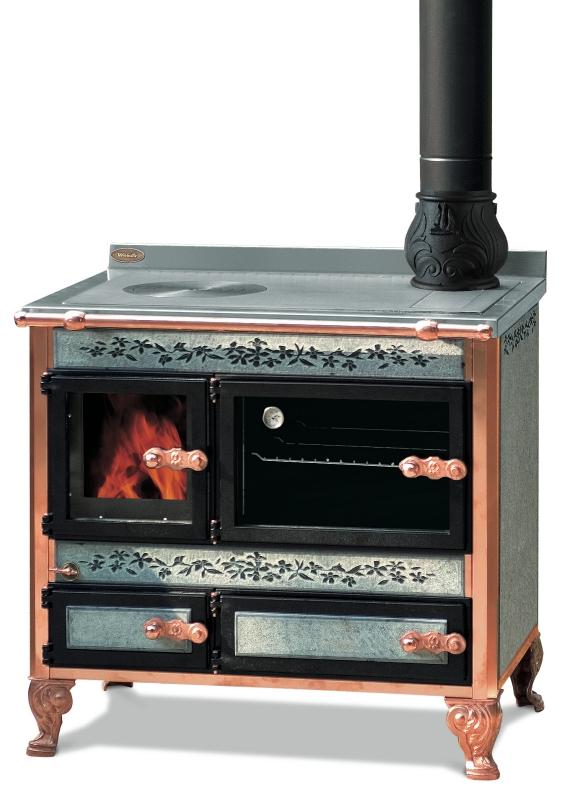 Wekos MONTEROSA 90- Cucina a legna – Stufe, caminetti, cucine ...