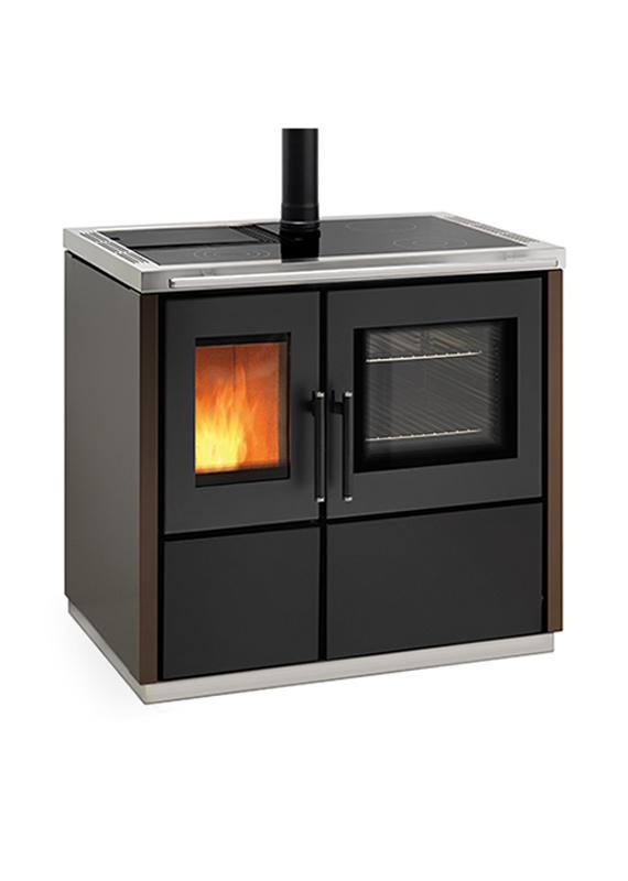 Ravelli MIA 90 – Cucina a pellet – Stufe, caminetti, cucine ...